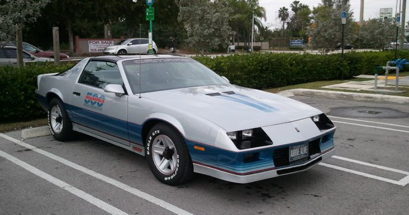 1982 Camaro Indy 500 Pace Car